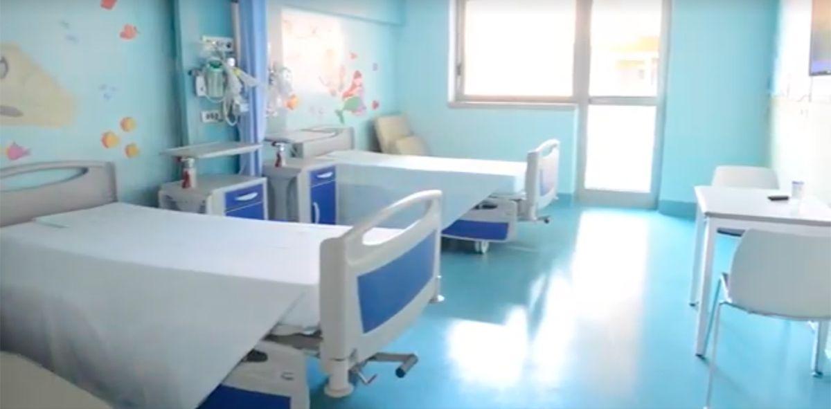 Altre due stanze per il reparto di pediatria