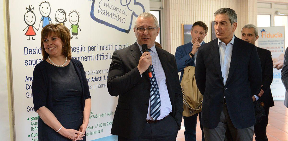 Inaugurazione delle nuove due stanze di pediatria