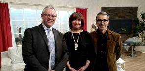 Il presidente Baldino e la vicepresidente Spezia ospiti di Cremona1
