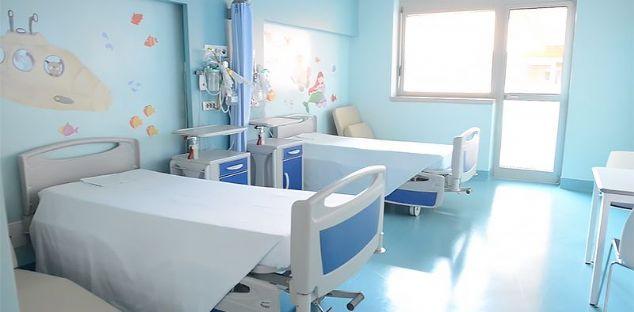 Dieci stanze per la Pediatria
