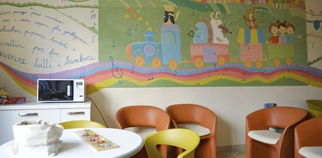 Otorino Pediatrica: una nuova sala d'attesa